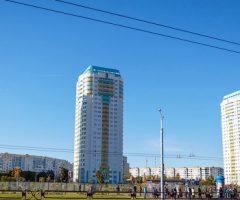 Застройка жилого квартала по Дзержинского, Голубева, проспекту газеты «Правда»